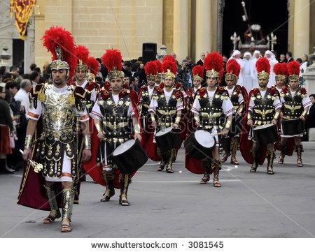 Seragam pada Zaman Romawi